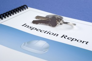 Inspection Report and Keys by the home detective